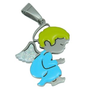 Praying-Angel-Sparkle-Colored-Wings-Pendant-Choice-Purple-or-Blue-Color-Chain-Included-B00SVTVUII