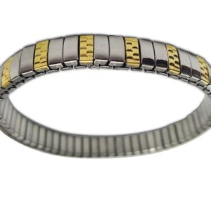 Two-Tone-Gold-and-Silver-Stainless-Steel-Expandable-Bangle-Wide-7-MM-Stainless-Steel-Elastic-Bangle-B06XP5GSKH