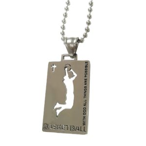 Christian-Stainless-Steel-Sport-Basketball-Medal-Necklace-Chain-Included-B01G47T65C