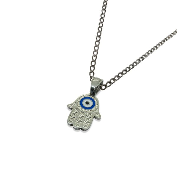 Hamsa-Hand-Pendant-with-Blue-Eye-protector-Engraved-Stainless-Steel-Women-Size-Pendant-Necklace-Choice-16-18-20-2-B06XDT4L3T